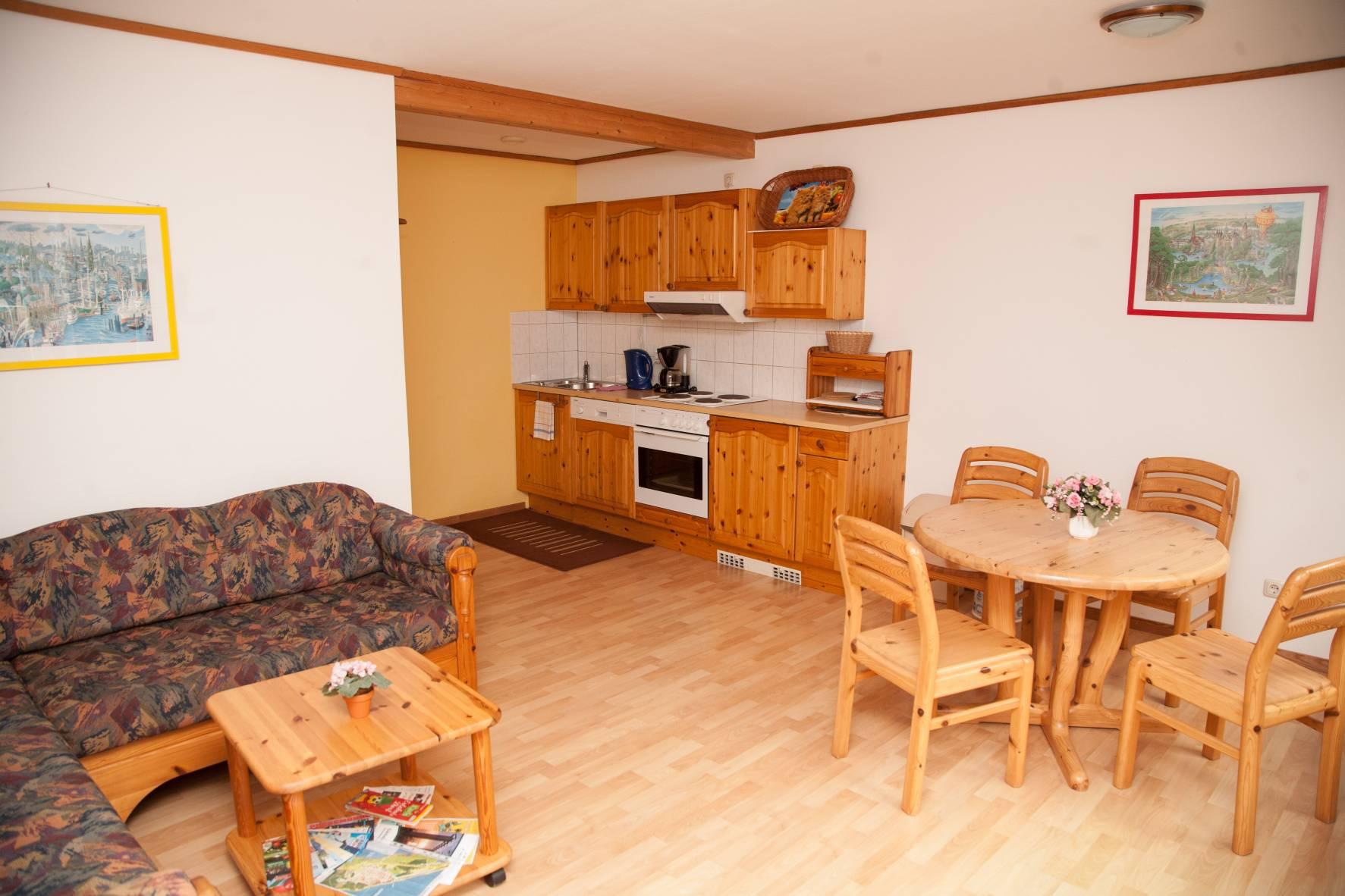 Fewo brieger lupp 2 raumwohnung for Wohnzimmer 45qm